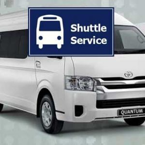 airport shuttle bus