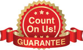 Count on us gaurantee